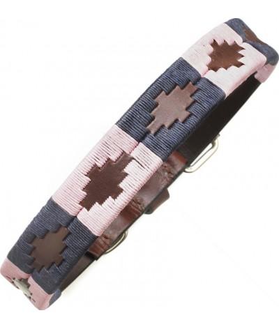 Pampeano Leather Dog Collar Hermoso