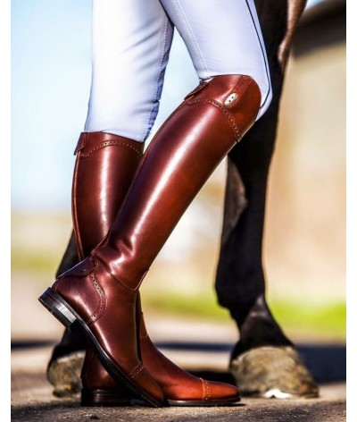 Secchiari Riding Boots Antique & punched
