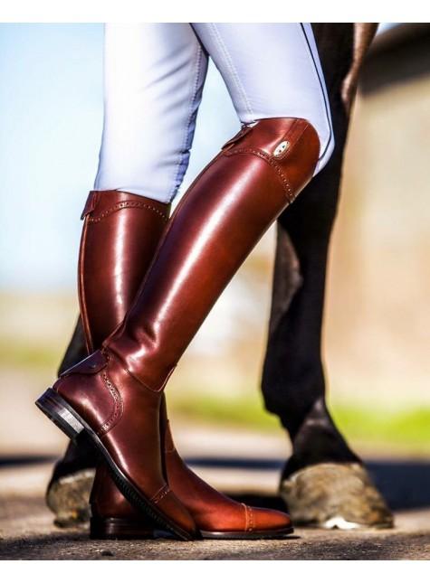 Secchiari Riding Boots Antique & punched