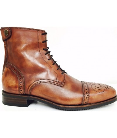 Secchiari Jodhpurs Antique Brown with Brogue