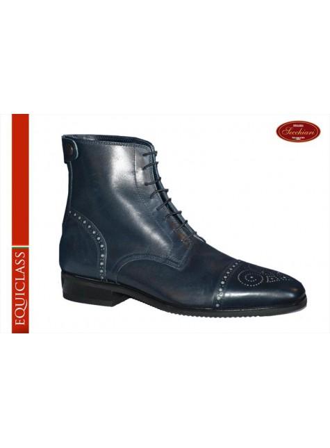 Secchiari Ankle Boots Buchi Blue