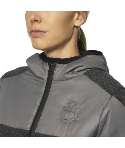 Sherpa Fleece Hooded Zip...