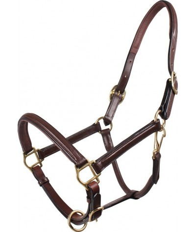 QHP Head Collar Leather Delicate