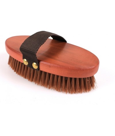 QHP Body Brush Timber