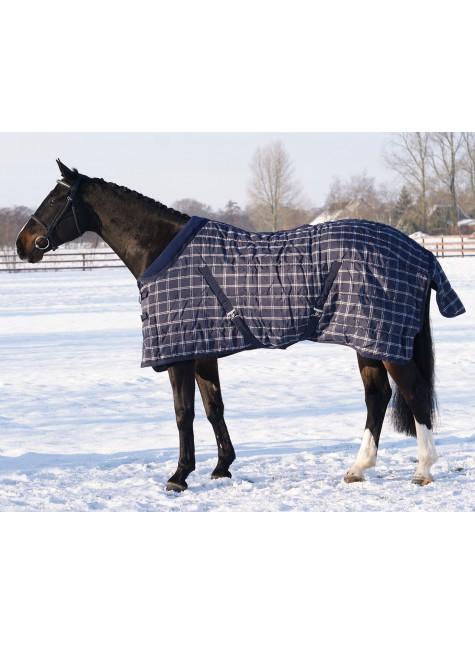 QHP Stable Rug Luxury Fleece Collar 300g