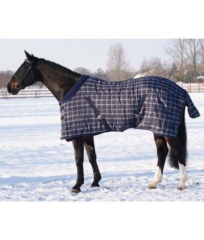 QHP Stable Rug Luxury Fleece Collar 150g