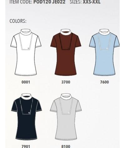Cavalleria Toscana Front Bib Knit Wedstrijdshirt