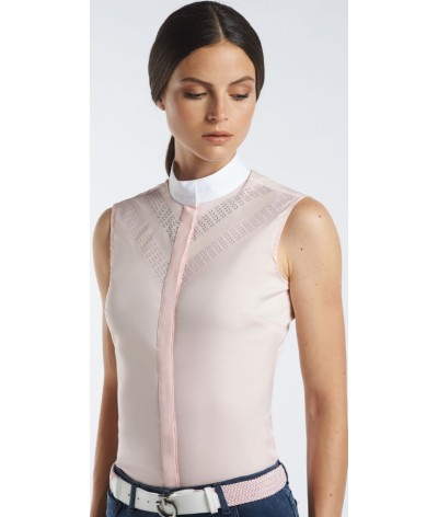 Cavalleria Toscane Perforated Double Sleeveless Shirt