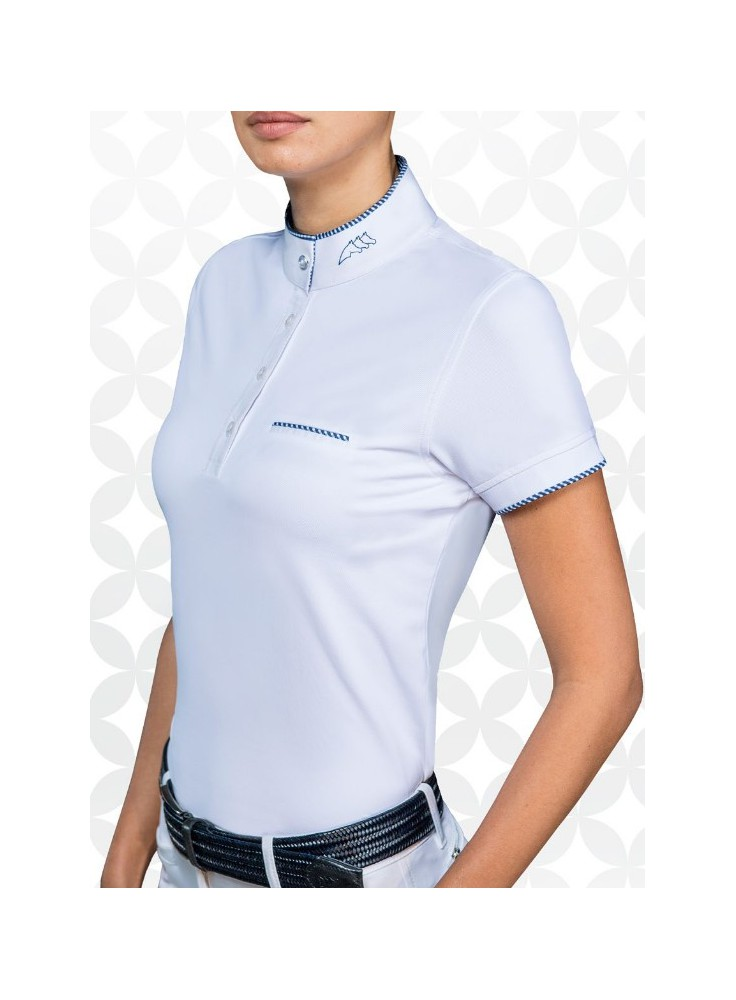 Equiline Woman Competition Polo Shirt Greta