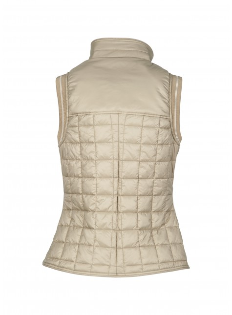 Equiline Women's Padded Vest Mineral