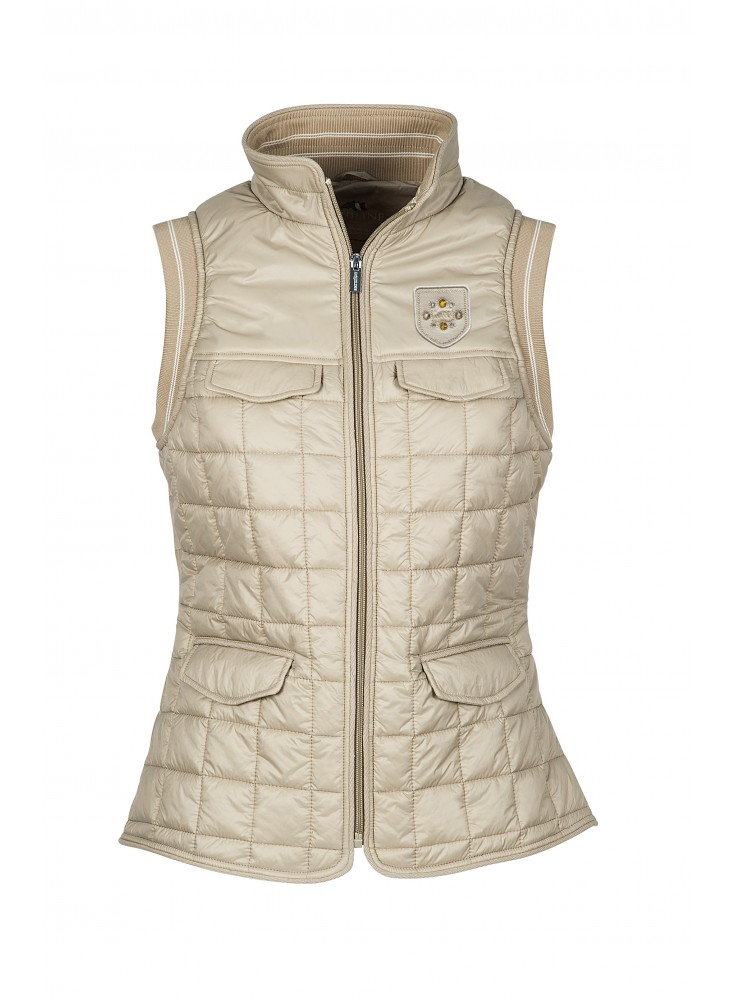 Equiline Dames Bodywarmer Mineral
