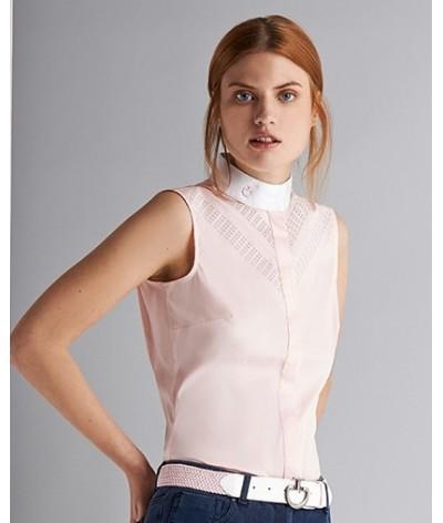 Cavalleria Toscane Perforated Double Sleeveless Shirt