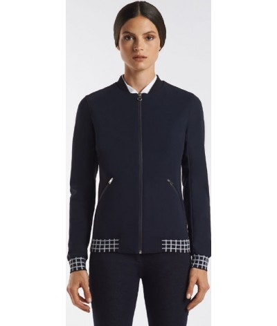 Cavalleria Toscana Bomber With Check Print Lining