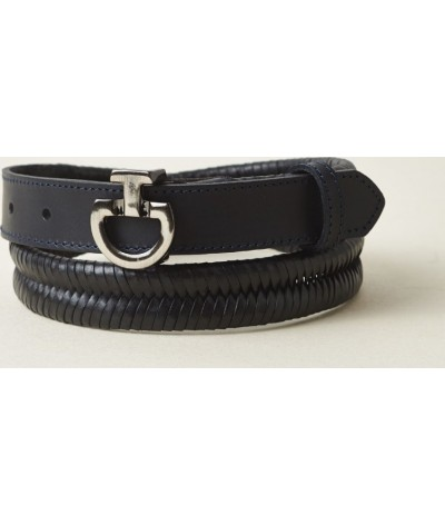 Cavalleria Toscana Women's Leather Belt