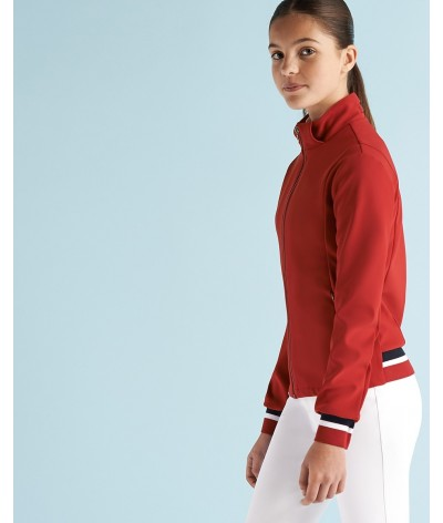 Cavalleria Toscana Tennis Stripe Zip Sweatshirt Kinderen