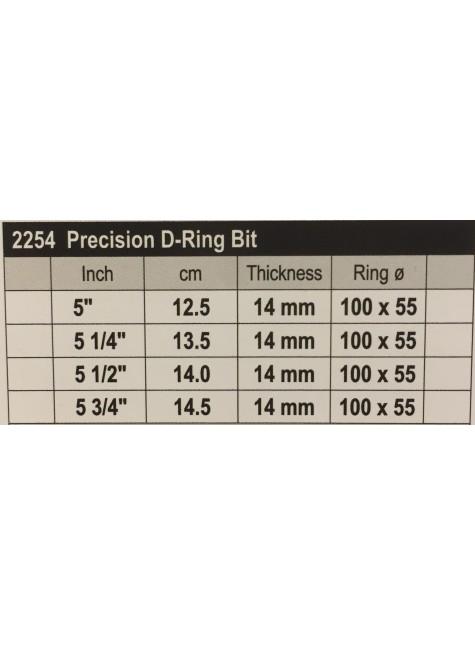 Stübben Easy Control Special Precision D-ring Bit Double Broken