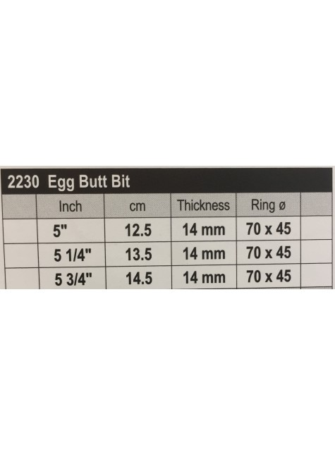 Stübben Sweet Copper Egg But Bit Double Broken