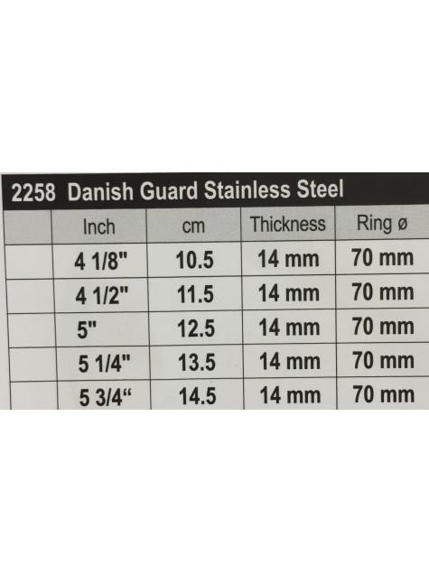 Stübben Stainless Steel Danisch Quard
