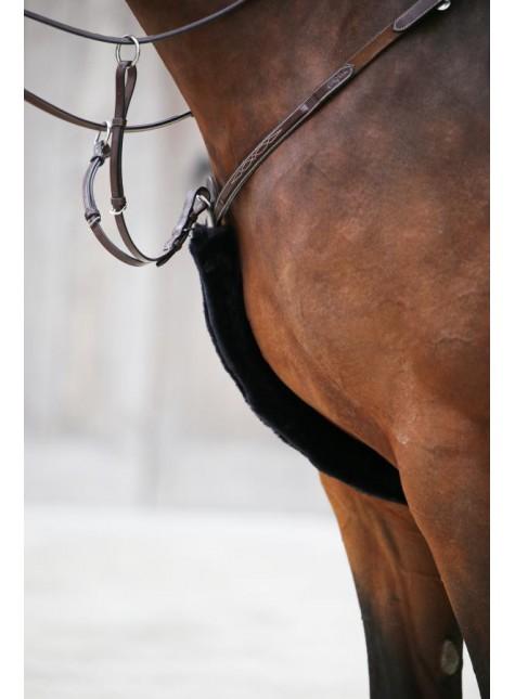 Kentucky Horsewear Sheepskin Breastplate Cover