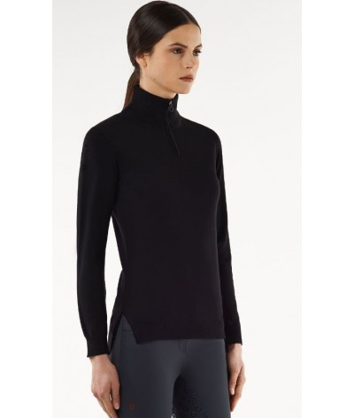 Cavalleria Toscana Tech Wool ZipTurtleneck