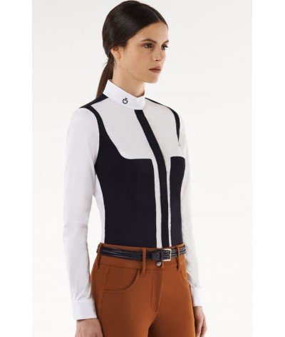 Cavalleria Toscana Popelin L/S Shirt With Jersey Fleece Insert
