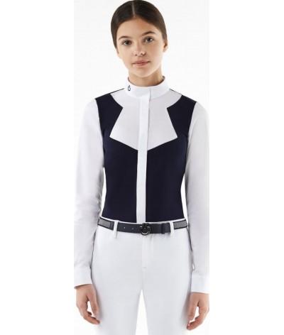 Cavalleria Toscana Jersey Fleece W/Popoline Insert Wedstrijdshirt