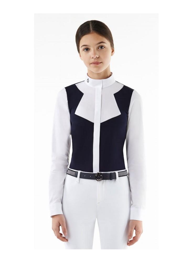 Cavalleria Toscana Jersey Fleece Shirt W/Popoline Insert