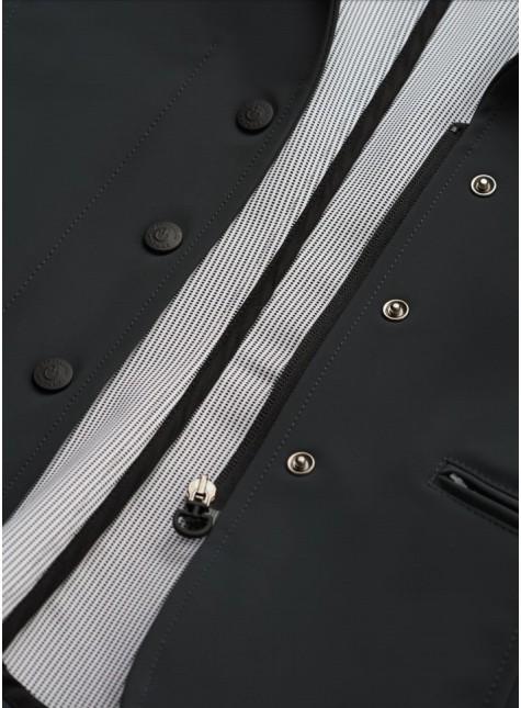 Cavalleria Toscana Zip rRiding Jacket W/Print Lining