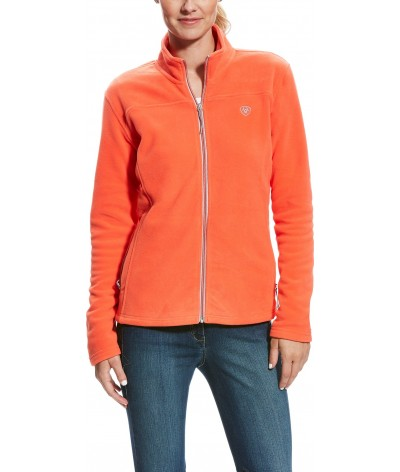 Ariat Women's Basis Full Zip Calypso Coral