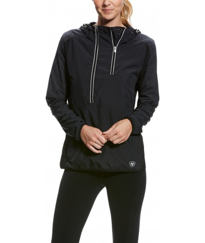 Ariat Women's Periscope Pullover Black Reflective