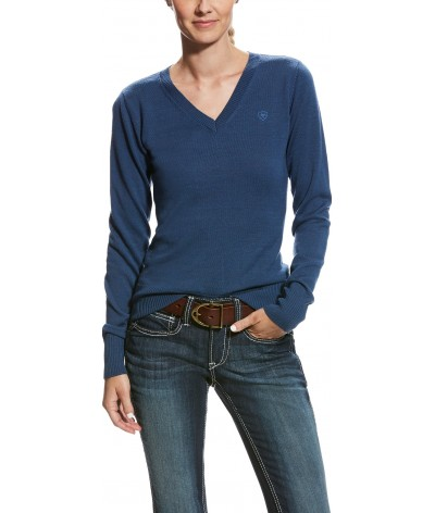 Ariat Womens Ramiro Sweater Dark Denim