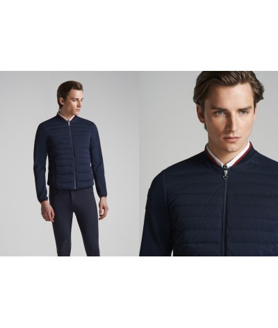 Cavalleria Toscana Quilited Piquet Detachalbe Sleeve Jacket