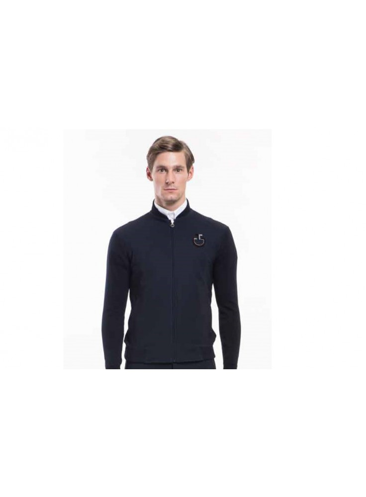 Cavalleria Toscana Performed Technical Zip Sweater