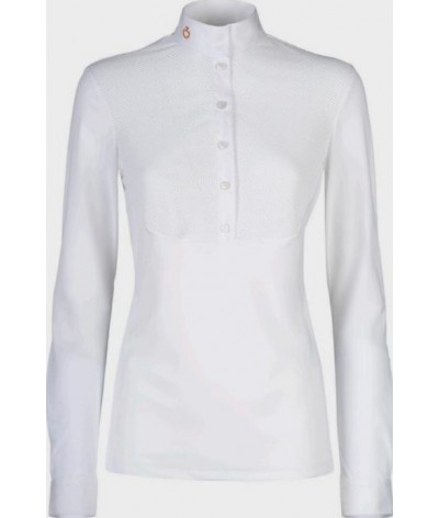 Cavalleria Toscana Jersey Competition L/S Shirt Mesh Bib