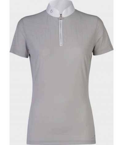 Cavalleria Toscana Perforated Sailing Jersey Competition Polo