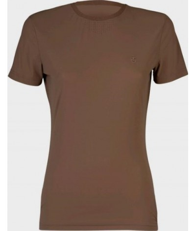 Cavalleria Toscana Perforated Jersey T-shirt Side Pocket