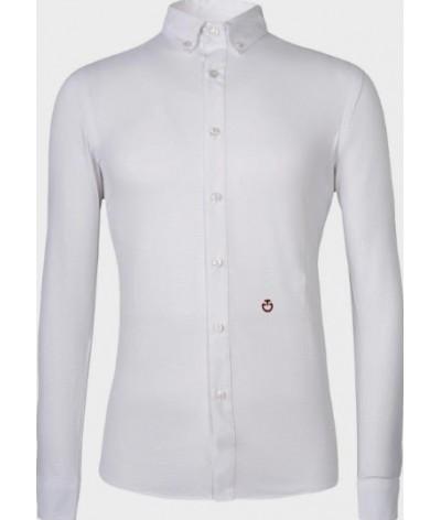 Cavalleria Toscana Guibert Shirt L/S Mesh
