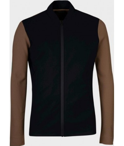 Cavalleria Toscana Embossed Jersey Jacket Men