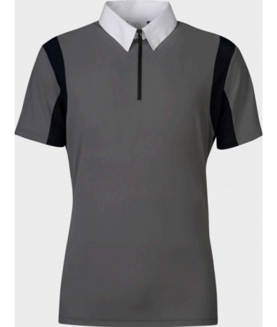 Cavalleria Toscana Jersey Competition Polo Mesh insert
