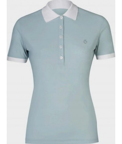 Cavalleria Toscana Perforated Jersey Polo
