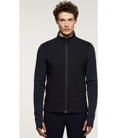 Cavalleria Toscana Tech Knit Jersey Jacket Heren