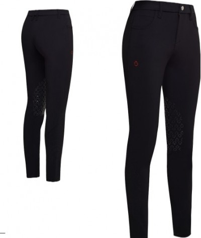 Cavalleria Toscana Degrade Perforated Swipe Breeches