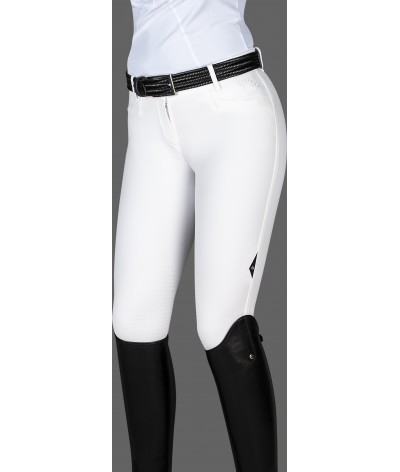 Equiline Women's Knee Grip Breeches Stone