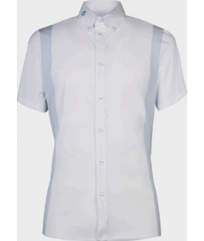 Cavalleria Toscana Cotton/Tech Competition Shirt S/S