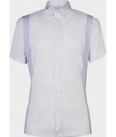 Cavalleria Toscana Cotton/Tech Competition Shirt S/S
