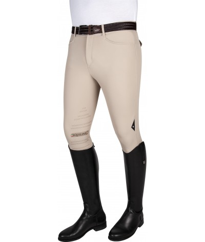 Equiline Mens Riding Breeches Atos Knee Grip