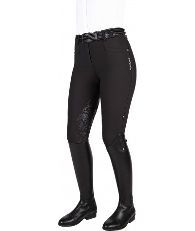 Equiline Women's Riding Breeches Bonny Half Grip