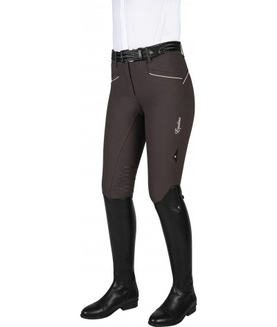 Equiline Women's Riding Breeches Lena Knee Grip