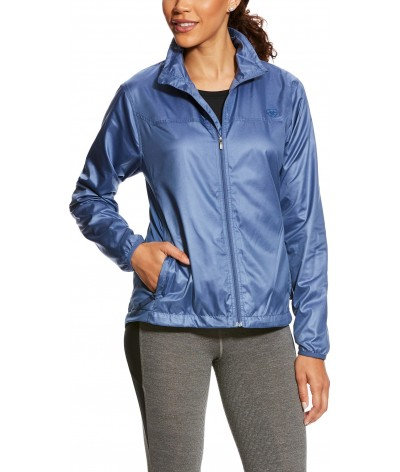 Ariat Dames Ideal Windbreaker Jas Paars
