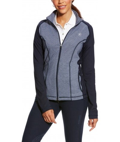 Ariat Women's Freja Full Zip Navy Heather